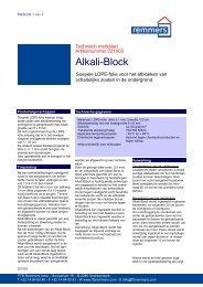 TF Alkali-block - Eltherm