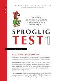 Sproglig test1_4+4 frv_4 - spf – nyheder . dk
