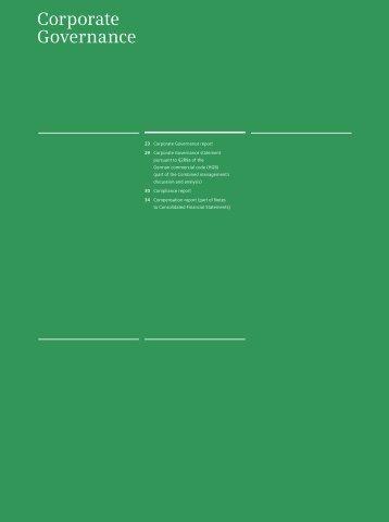Siemens Annual Report 2010, Corporate Governance