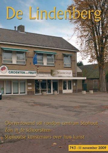 De Lindenberg 743 - 11 november 2009 - Stiphout NU