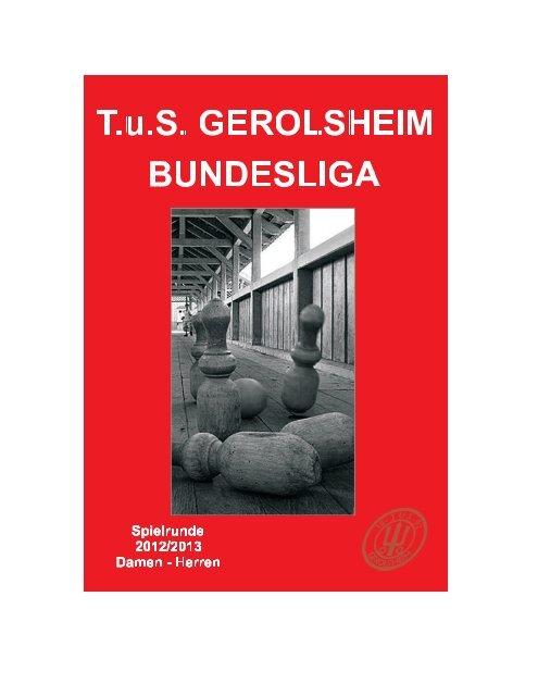 TuS Gerolsheim Sportkegeln Saison 2012/13