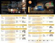 Flyer zur Nacht der Wissenschaft 2011 - destination-desktop.de