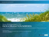 INDEXOBLIGATION NORDEN - Danske Bank