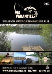 specialist voor karpervakanties in frankrijk en belgië. - Vis vakantie