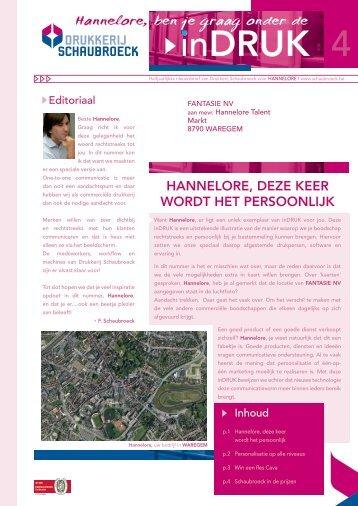 Hannelore - Schaubroeck