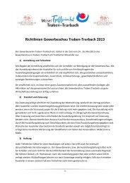 Teilnahmebedingungen - Gewerbeverein Traben-Trarbach