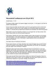 Download PDF versie - Leefbewust