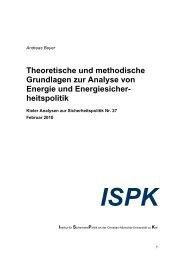 Theoretische und methodische Grundlagen zur Analyse von ...
