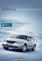 SEBRING - Autohaus Bohnes