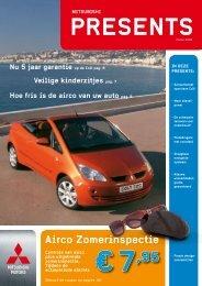Airco Zomerinspectie € 7,95 - Mitsubishi Motors Netherlands