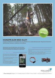 contact gps ii produktblad svenska.pdf - Followit Outdoor