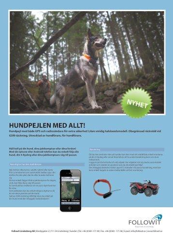 contact gps ii produktblad svenska.pdf - Followit Outdoor