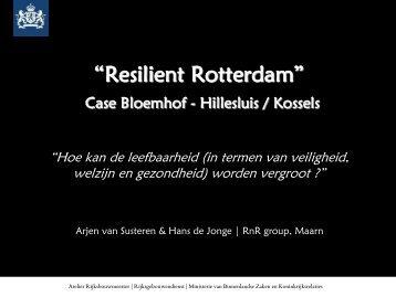 Lees meer over Resilient Rotterdam - Rijksgebouwendienst