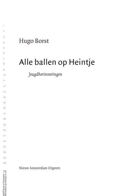 Alle ballen op Heintje - Pauw & Witteman