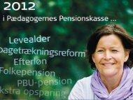 Fyraftensmøde Aalborg - præsentation (PDF) - PBU