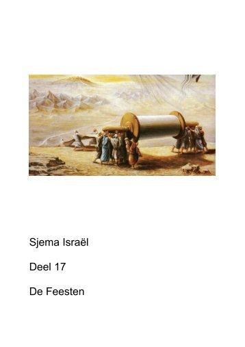 Sjema Israël Deel 17 De Feesten - Bet Echad