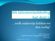 Vlaanderen een toekomst - Centrum voor ervaringsgericht onderwijs