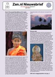 Zen.nl nieuwsbrief april 2011 met Sri Lanka special