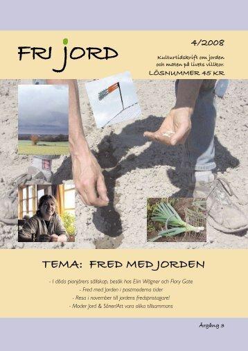 TemA: FreD meD JOrDen - Igenom