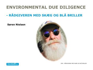 Environmental due diligence - ATV Jord og Grundvand