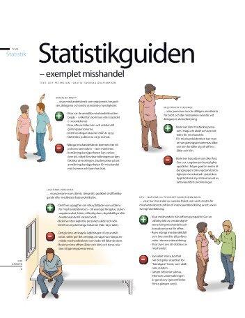Statistikguiden - exemplet misshandel (pdf) - Brottsrummet