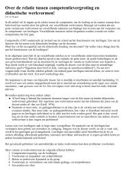 Over de relatie tussen competentievergroting en ... - evanbruggen