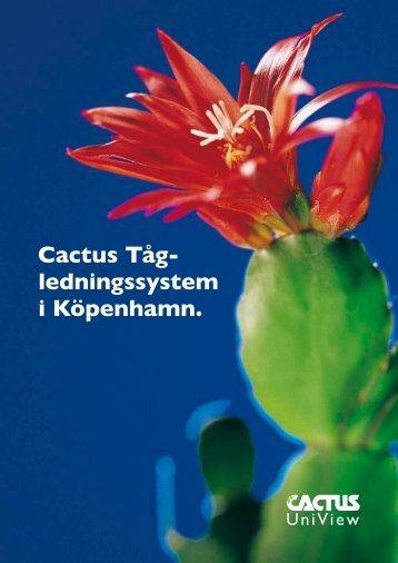 Cactus Tåg lednings system i Köpenhamn. - Cactus Uniview
