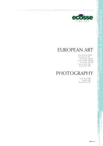EUROPEAN ART PHOTOGRAPHY - Ecosse Fine Art