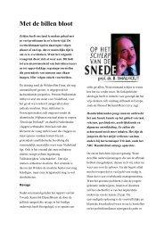 Met de billen bloot - Beter Onderwijs Nederland