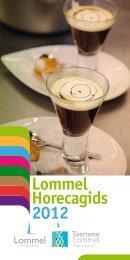 Horecagids 2012 Lommel - Toerisme Lommel