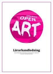 Lärarhandledning - Konst i Örebro län