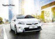 Toyota Prius Brochure Nederland