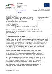 läs rapport - Ny i Inre Skandinavien