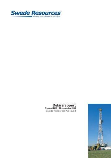 Se hela delårsrapporten i Adobe Acrobat - Swede Resources AB