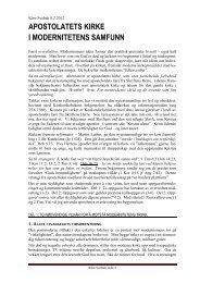 Kirkens konferansetaler om stevnemøter