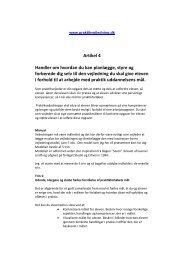 Artikel 4 HVORDAN VEJLEDER MAN MÅL - praktikvejledning.dk