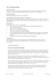 TIP 1 – CITATEN OVERAL DOELSTELLING De Leeslijst voorstellen ...