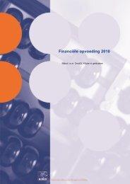Financiële opvoeding 2010 - Nibud
