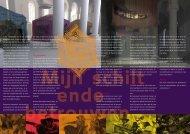 De geschiedenis De verbeelding Klank en ... - De Oude Calixtus