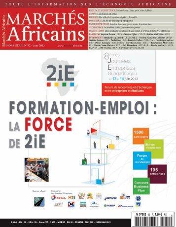 Marchés Africains Edition spéciale 2iE