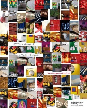BOSS Trendcolours 9 a World of Inspiration - Franco-Belge