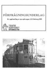 Förfrågningsunderlag upphandling del 1 - Göteborgs-Posten