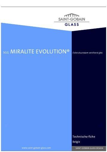 SGG MIRALITE EVOLUTION - Saint Gobain Glass