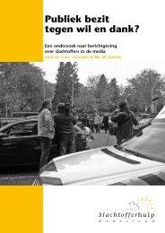 Publiek bezit tegen wil en dank? - Slachtofferhulp Nederland