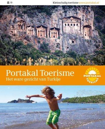 Brochure Dalyan en omgeving - Portakal Toerisme