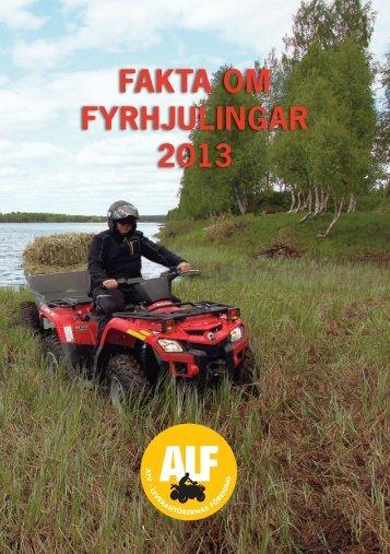 FAKTA OM FYRHJULINGAR 2013 - McRF