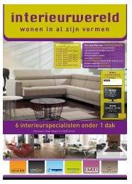 wonen in al zijn vormen 6 interieurspecialisten ... - InterieurWereld