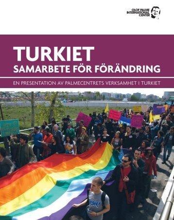 Turkiet samarbete för förändring - Palmecenter