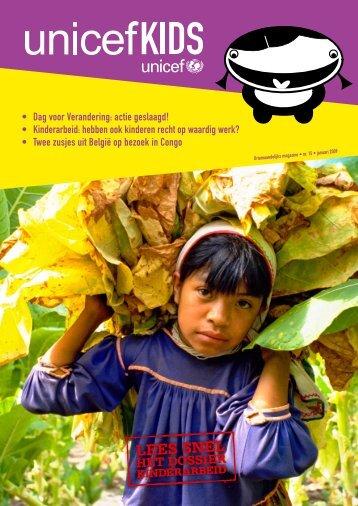 • Dag voor Verandering: actie geslaagd! • Kinderarbeid ... - Unicef