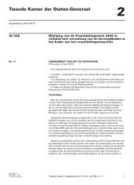 Amendement - Eerste Kamer der Staten-Generaal